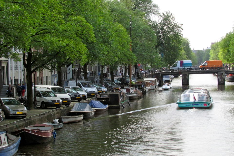 Can't beat the calm canals of Amsterdam