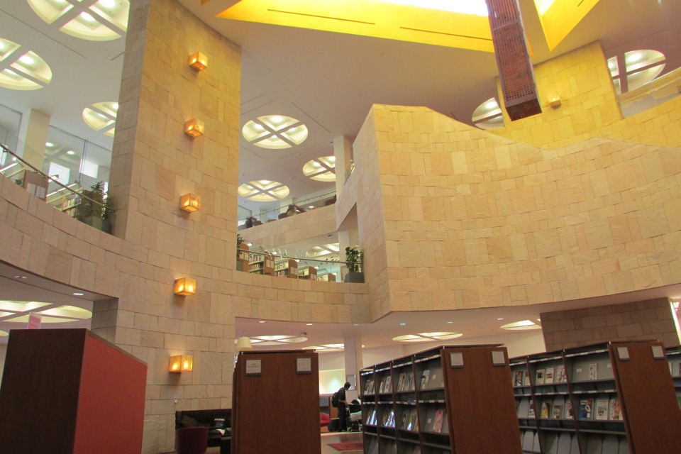It's one of Qatar's best-kept secrets, but within Education City exists a real, live library.