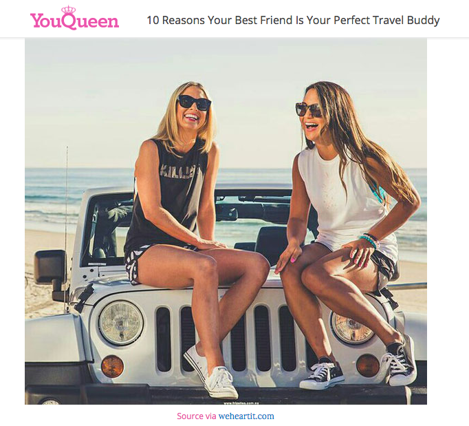 10 Reasons Your Best Friend is Your Perfect Travel Buddy